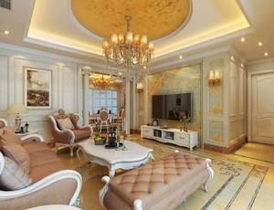 现代欧式风格客厅装修效果图赏析