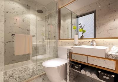 4平方长方形卫生间设计图