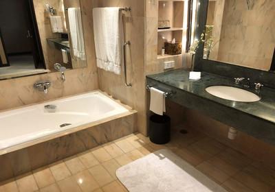 长方形卫生间平面设计图