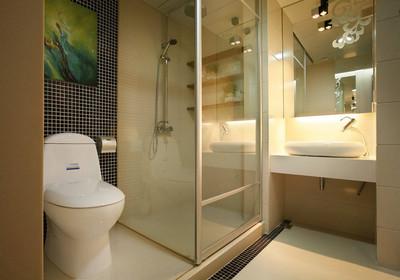 3平方长方形卫生间设计图