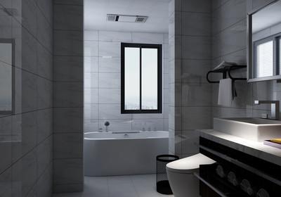 三平米长方形卫生间设计图