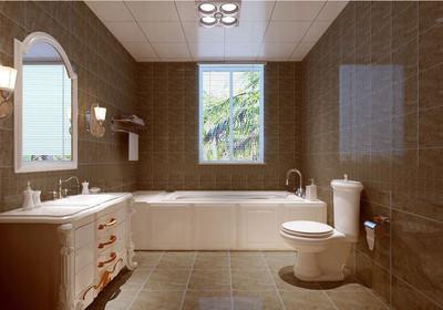 长方形三平方卫生间设计图