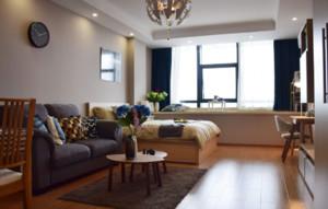 40平米通間公寓裝修效果圖