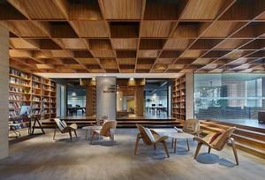 图书馆大堂装修效果图