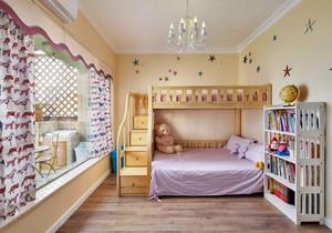 中式兒童房上下床效果圖