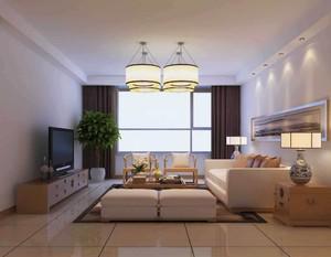 復式樓簡約中式風格客廳裝修效果圖大全