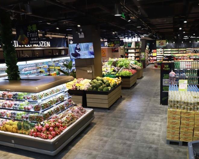 工业风格超市怎么装修效果图