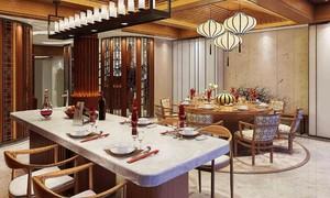 別墅一樓復式餐廳裝修圖片