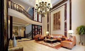 復式別墅客廳餐廳設計