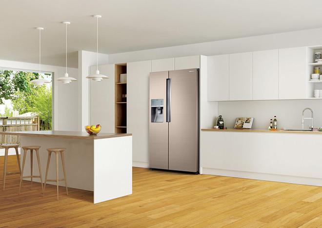 冰箱放客厅效果图