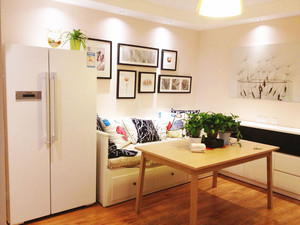 冰箱放在客廳的位置圖