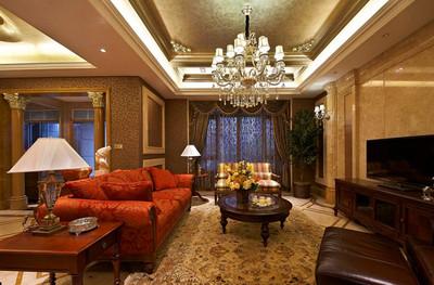 别墅客厅吊顶设计