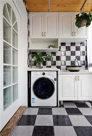 陽臺洗衣池裝修效果圖