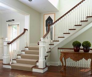 實木樓梯立柱效果圖