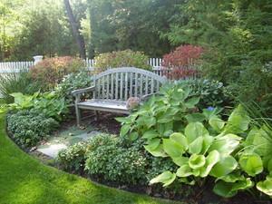 小庭院綠化設計效果圖