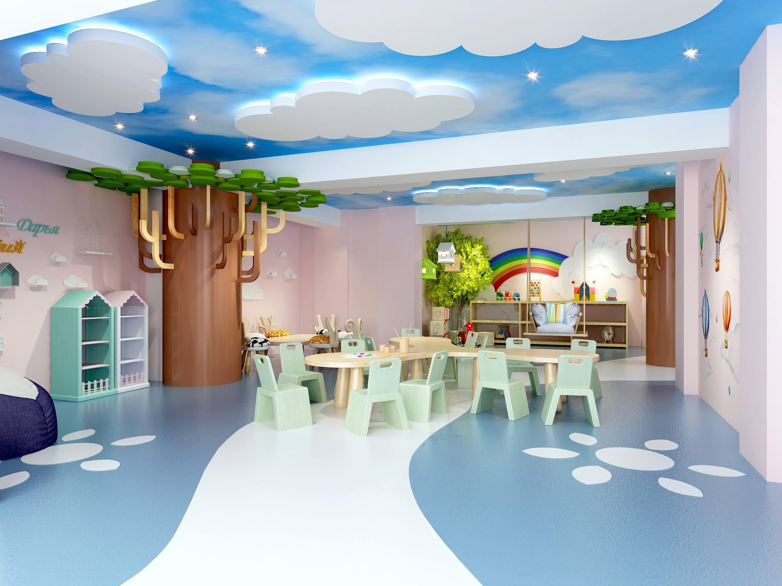 室內兒童樂園裝修效果圖