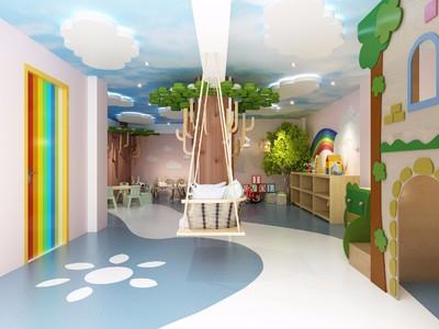 杭州兒童樂園裝修效果圖