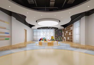 上海兒童樂園裝修效果圖