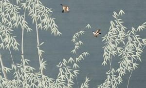 新中式壁画效果图