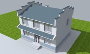 二层楼房设计效果图