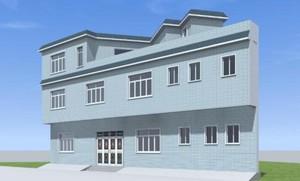 农村简单二层楼房效果图