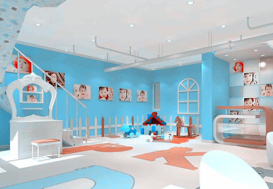兒童樂園設計裝修效果圖