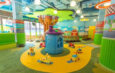 商場兒童樂園裝修效果圖