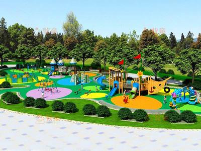 室外兒童樂園裝修效果圖
