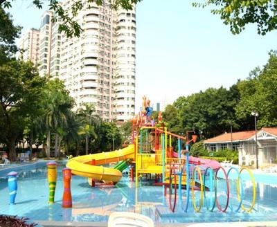 社區兒童樂園裝修效果圖
