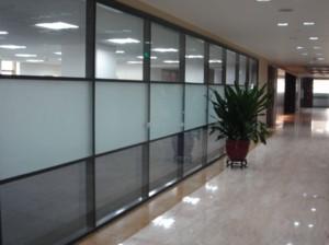 重慶辦公室隔斷墻設計圖