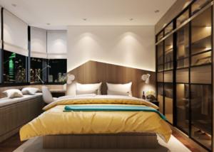 臥室墻壁燈效果圖大全