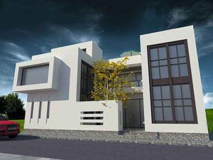 簡單別墅設計圖