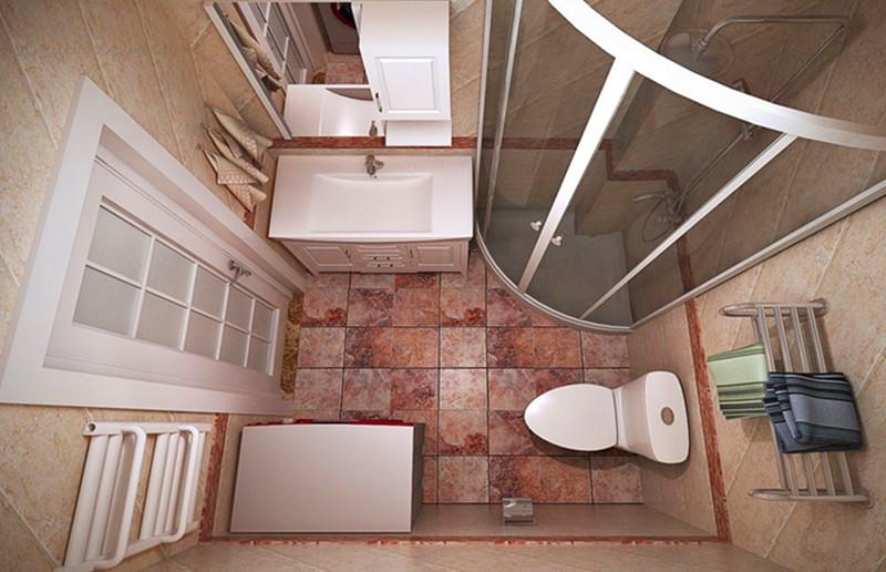 2平米迷你卫生间装修图