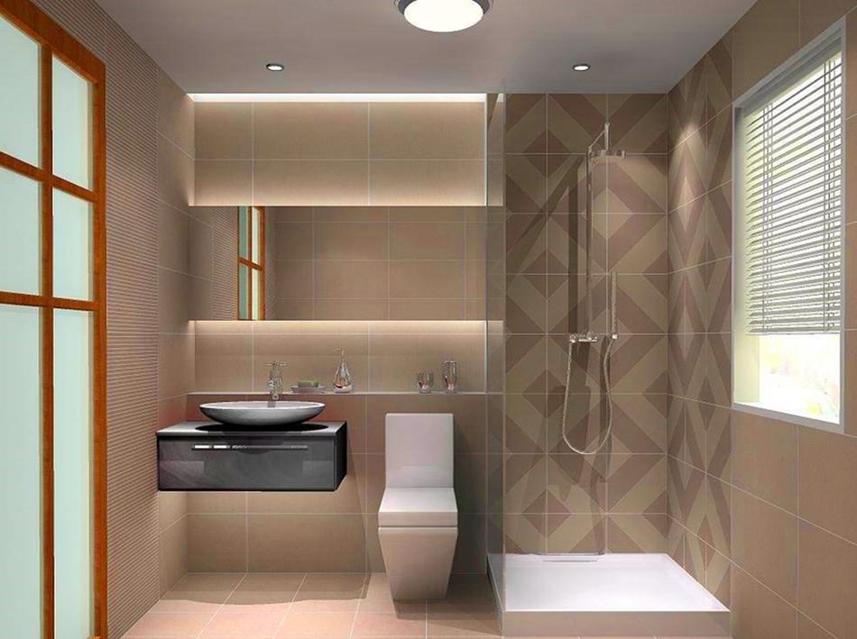 2平米长方形卫生间装修效果图
