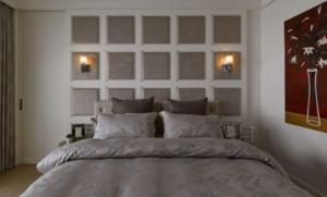 臥室床頭掛壁燈效果圖