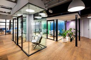 辦公室綠植擺放效果圖