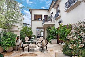小庭院綠化效果圖