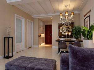 客廳棚頂石膏造型效果圖
