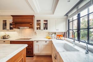 豪華別墅樣板間廚房實景圖