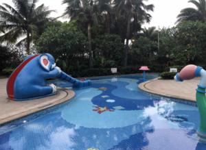 大型儿童游泳池装修图
