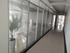 辦公室玻璃隔斷墻貼紙效果圖