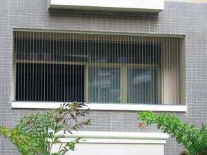 隱形防盜窗的安裝效果圖