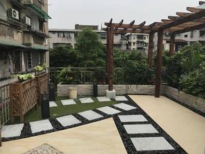 屋頂陽臺綠化效果圖