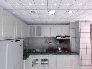 廚房吊頂樣板間效果圖