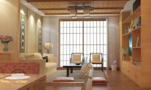 日式無電視客廳裝修效果圖