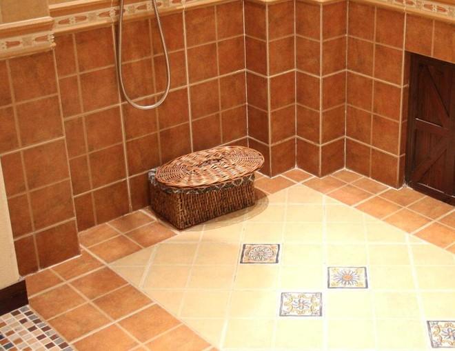 卫生间地板菱形效果图