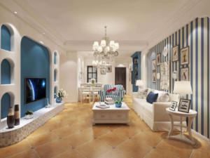 卧室和客厅地砖效果图