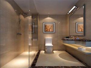 酒店开放式卫生间设计图
