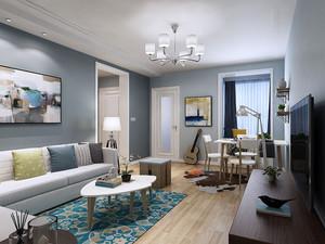 客廳墻壁顏色搭配效果圖