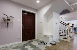 客廳與走廊地磚效果圖